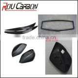 AUTO SPARE PARTS ACCESSORIES CARBON FIBER REAR MIRROR OUTSIDE COVERS WITH CLIPS FIT FOR INFINIT Q50