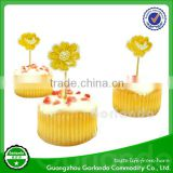 New style hot sell flag bamboo party cocktail food stick
