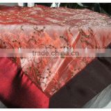 banquet seqiuns table overlays decorative machine embroidery table cover