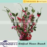 Beautiful hotel decor artificial evergreen branch