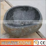 Top quality nature granite wash basin toilet