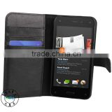 2014 NEW PRODUCT FOR AMAZON FIRE PHONE CASE,FLIP GENUINE LEATHER COVER WALLET CASE FOR AMAZON FIRE PHONE
