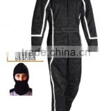 Professional The White Outline Go Kart Customized Karting Wear Racing Suit