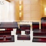 Hotel resin product bathroom accessories resin tumble holder/soap dish