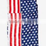 2014 American Flag print infinity scarf great accessory for your outfit--Black Friday