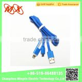 2016 oem USB 2.0 3.0 LED data transfer cable for iphone ipad ISO system phone charger cable
