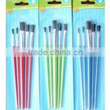Plastic Painting brush with nylon hair