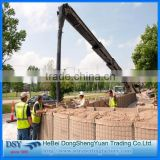 used hesco barriers price Military Explosion-proof Wall Hesco Bassion Joesco 1x1x1 Gabion Box Hesco Barrier Wall
