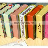 alibaba decorative book shaped tin boxes/metal tin boxes factory/fake book storage box