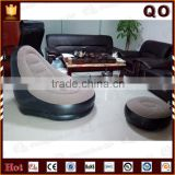 Flocking sofa soft inflatable room furniture for adults                                                                         Quality Choice