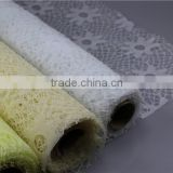 Factory supply 50 cm flower wrapping sunflower mesh roll packaging in alibaba