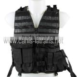 MOLLE combat outdoor army military bulletproof tactical gear vest assault waistcoat CL4-0037BK