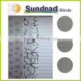 panel track blinds decorative modern room dividers simple clean appearance home decor solution Living Room blinds