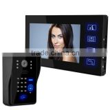 7 Inch KeyPad Touch Screen Video Door Phone touch screen watch phone