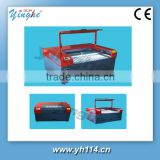 laser cutting machine for stamp engraving Guangzhou for any nonmetal material ,sharp cutting and deep cutting