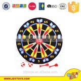 Hot sale colorful 36cm dart game playset,dartboard game toy,target game toy
