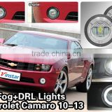 90mm 2013 Camaro Fog Lights For Chevrolet Fog light kits 2011 2012 2013 Camaro Headlamp DRL Fog light with CE & E-mark Approval