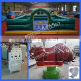 Challanging ride inflatable mechanical bull ride machine