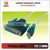 USB to serial DB25 25Pin Female Parallel Port printer Cable Adapter computer cord