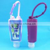 29/30ml waterless alcohol gel antibacterial hand sanitizer bottle silicone pocketbac holders