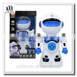 new design ABS Plastic Children Learning robot storyToys, china factory custom electronic story toy