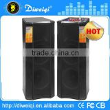 powerful 2.0 professional concert karaoke stage speaker with pa system,bluetooth dj speaker
