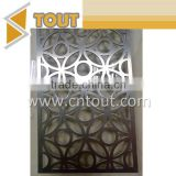 Factory Supply Hotel Room Restaurant Decorative Laser Cut Stainless Steel Screen