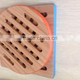 Bamboo wooden restaurant fancy cup table mats
