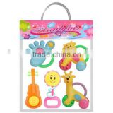 BELL,SHAKING HANDBELL BABY CONCERT,HANDBELL,BABY TOY,HANDLE BELL,PLASTIC TOY,