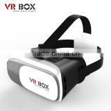 Hot Selling Virtual Reality Glasses Case Plastic Google Cardboard 3D VR BOX 2.0 Adjustable 3D VR