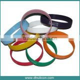 Permanent using silicone bracelet ring