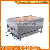 JINZAO PR-1-N K+S Stainless steel Pig roasting machine/Pig Roaster/Gas roasting Pig Oven/ Chinese Chicken duck Roaster