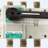 GTH2 125A~3150A AC660V DC440V Disconnecting switch mini circuit isolator breaker with direct manufacturer