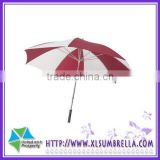 Manual open strong outdoor promotion durable Rain golf large umbrella