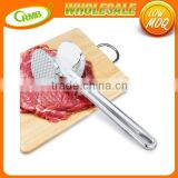 Two Sides Aluminum Beef Chicken Steak Cutlet Beater Pork Chicken Meat Hammer Mallet Tenderizer
