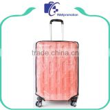 Custom clear plastic covers for suitcases
