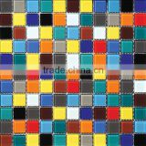 4/6/8mm thickness wall backsplash crystal glass mosaic for pool/bathroom/kitchen from IMARK