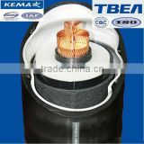 Waterproof single core Copper XLPE 64/110kV 500sqmm underground high voltage power cable price
