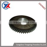 OEM iron casted small gear wheel casting mechanical parts machine tool accessories made in China
