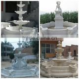 Outdoor Stone Marble Ball Fountain