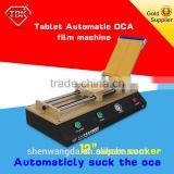 2016 TBK-766 Automatic OCA Film Laminating Machine Max 12 inch Tablet PC LCD Film OCA Laminator For Touch Screen Repair