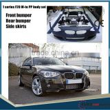 HOT SALE/ For 1 series f20 f21 m-te style 2012~ year car up tunning pp bumper set body kit