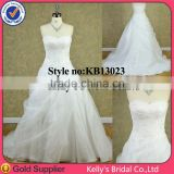 crystal beaded corset bodice top wedding dress bridal gown 2014