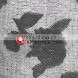 Wholesale Factory Price 75D 100%polyester embroidered Maple Leaf Patternt Dye fabric for
