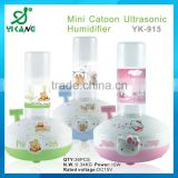 ultrasonic humidifier piezoelectric transducer bottle can be changed ultrasonic air humidifier best product hot in 2014