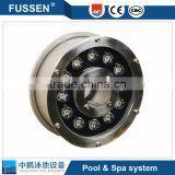 12v rgb 1-30w par56 swimming pool led underwater light ip68 with pool light bracket