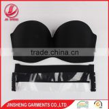 Wholesale high quality hot nude sexy silicone bra seamless women underwear