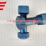 3/4''-16*2 3/4'' UNF Crawler excavator/bulldozer track shoe bolt and nut