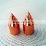 Galvanized high strength Steel tip drive head for ground rod and earth rod