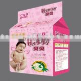 Biodegradable disposable Corn and Bamboo Fiber Baby Diaper